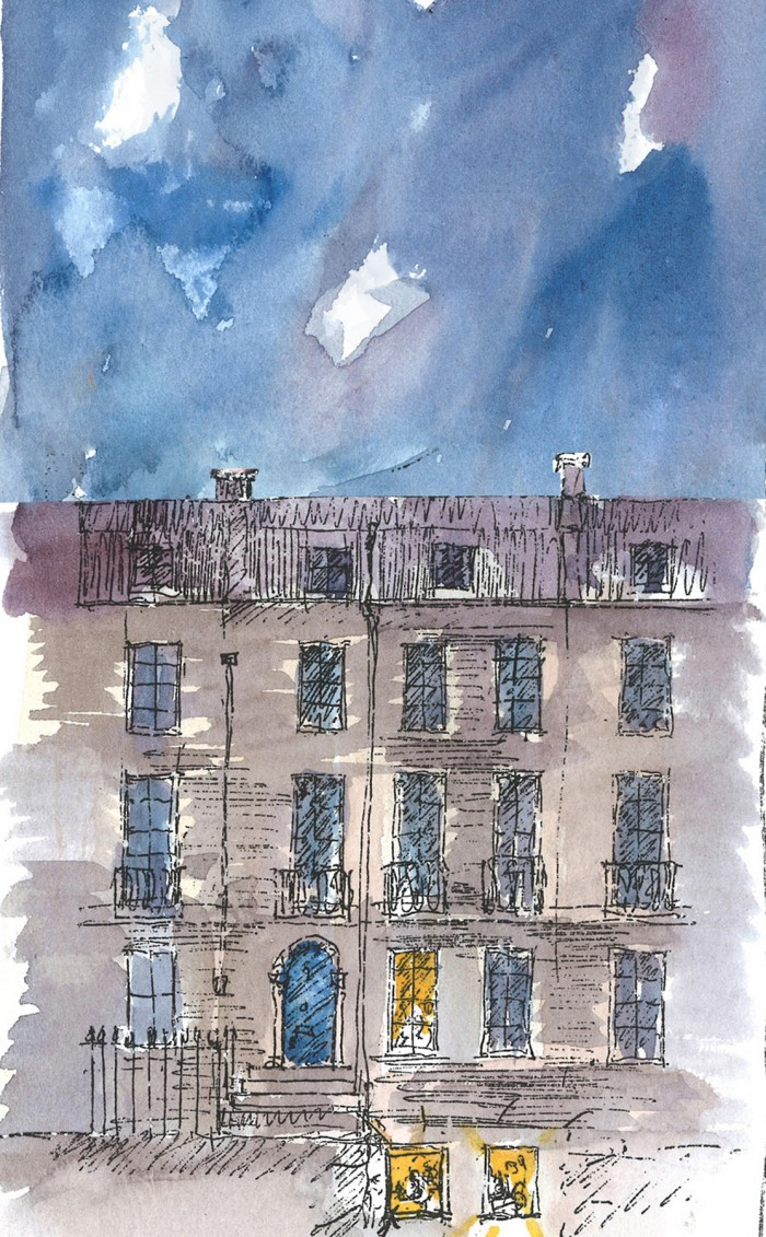 Grey_2 Compton Terrace watercolour