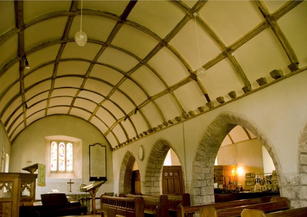 North aisle nave
