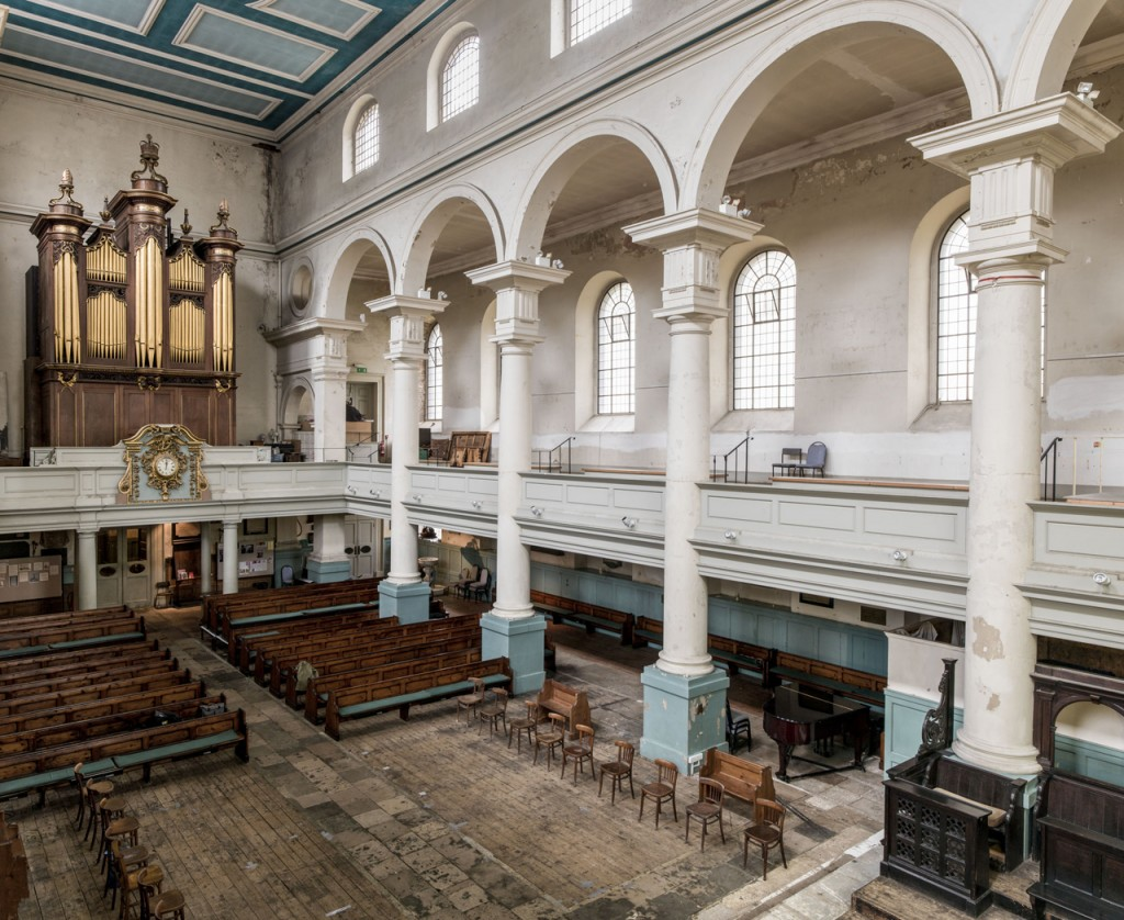 Interior view - The Nave (Image courtesy Historic England)