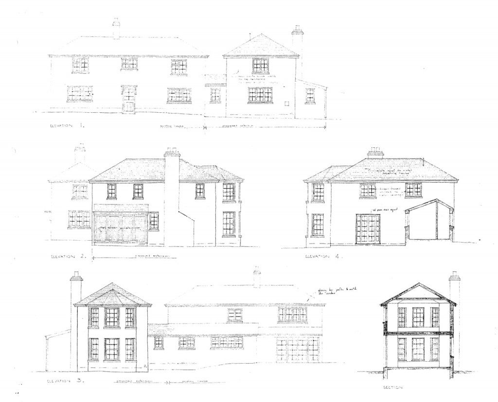 Elevations for phase I extension