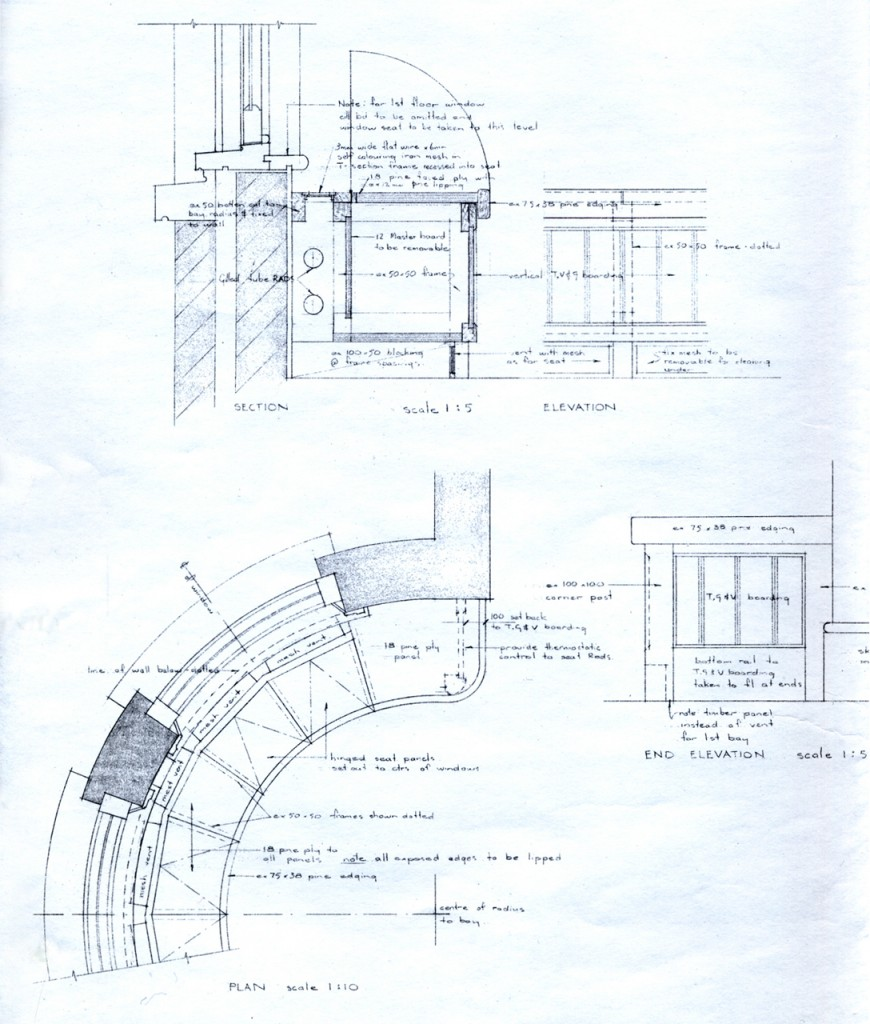 Details for bay window