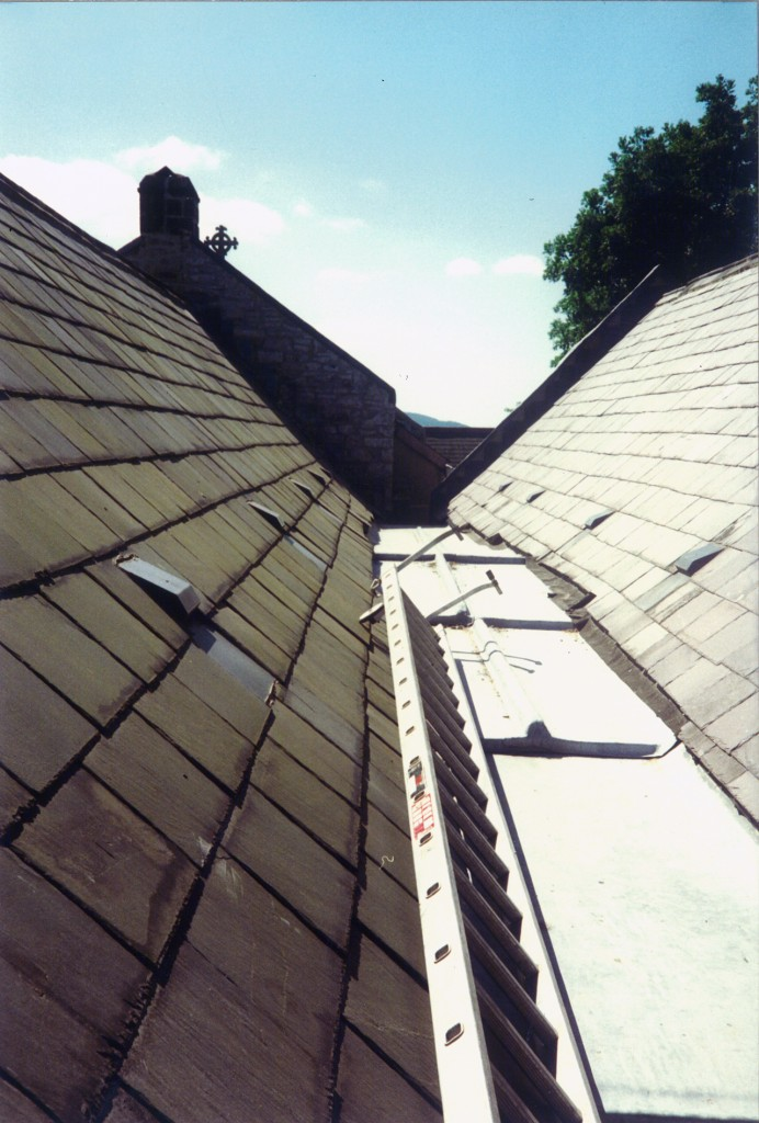 Lead valley and slates – after