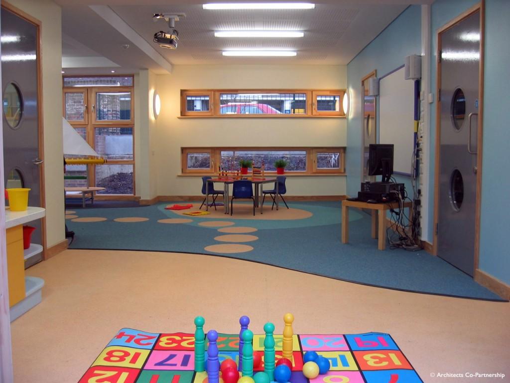 Nursery Learning Area