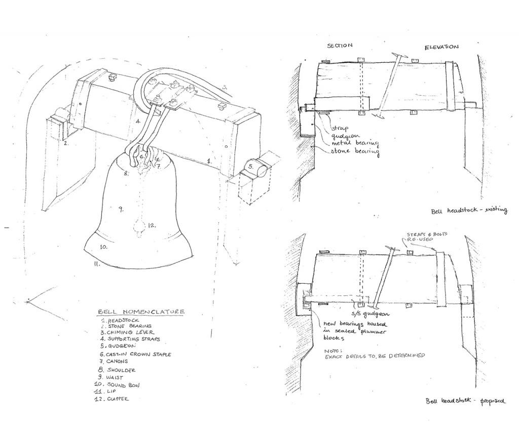 Bell repair drawing