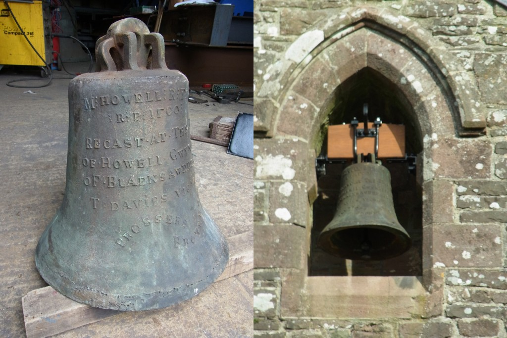 Bell at Whites of Appleton, before and after