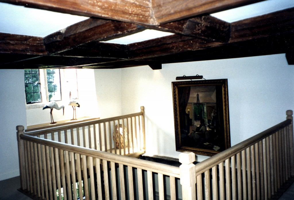 Entrance hall gallery after