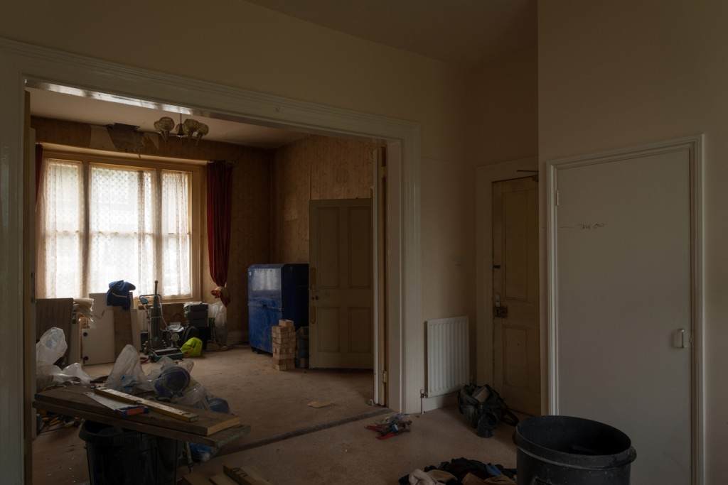 Ground floor front room – before