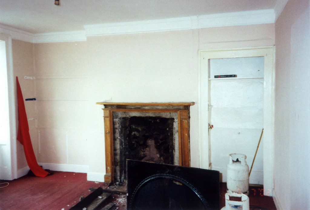 Living room – before