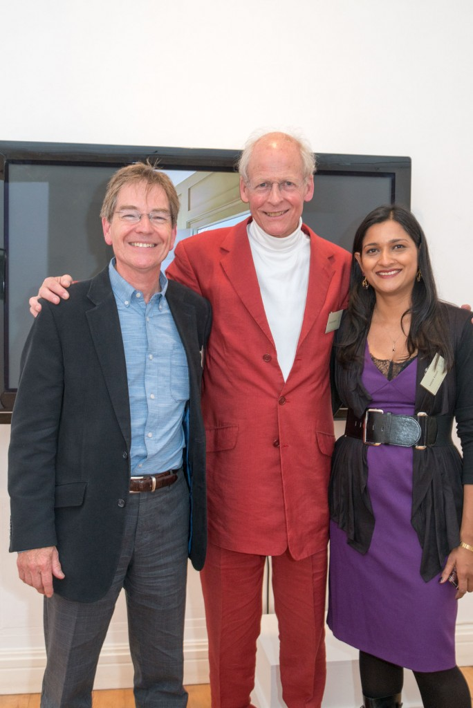 Introducing the new Partners - Alan Brown and Sarah Khan with Roger Mears