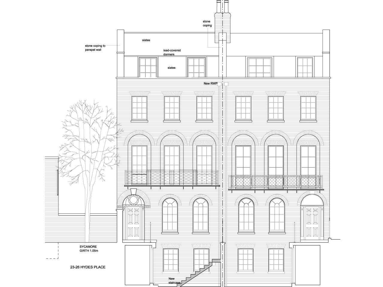 Drawings - Proposed Elevation.