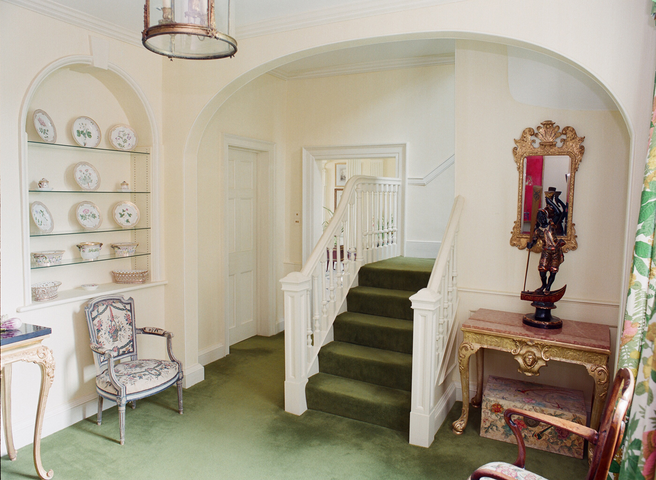 Back stair hall – before