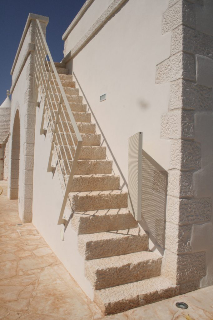 Stairs to lamia terrace