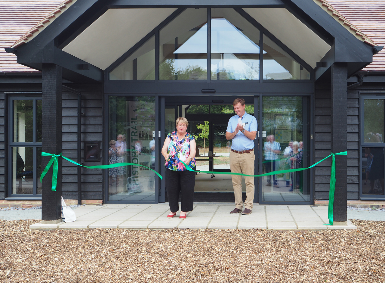 Visitor Centre Opening Ceremony