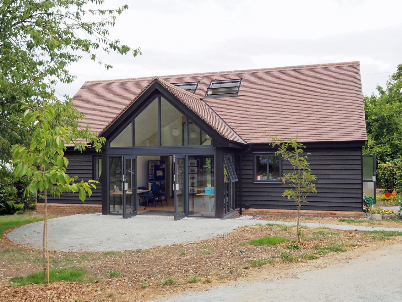 Visitor Centre Rear Elevation