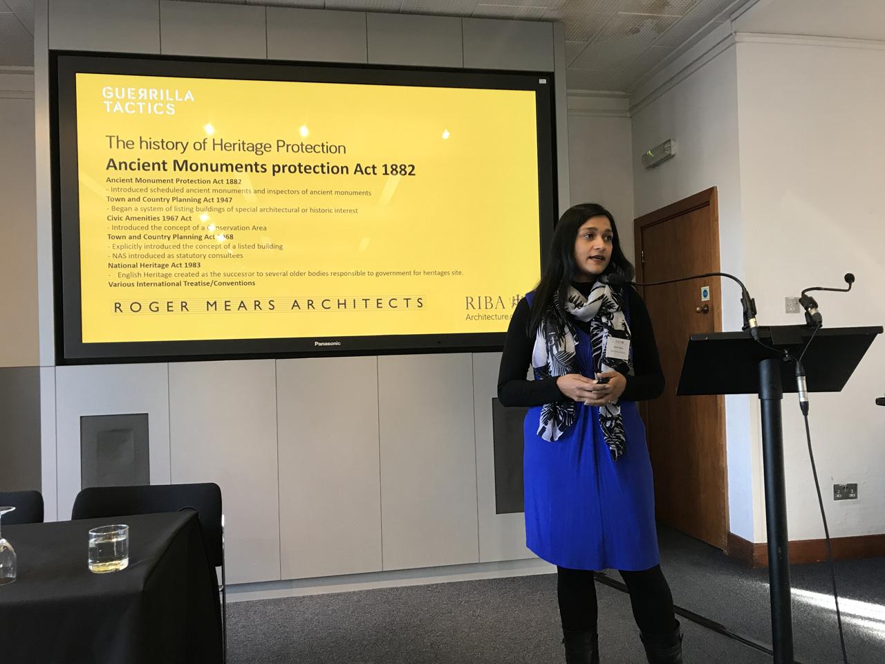 Sarah Khan at Guerilla Tactics 2018