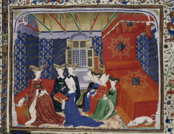 Painting Christine di Pizan